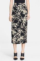 A.L.C. 'Winter Floral Bell' Print Skirt