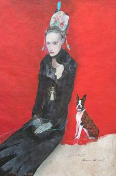 painting by Katarina Vavrova. 'Dada 4 You'