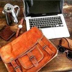 #leatherbag #leatherbags #bags #bag #briefcase #mensbriefcase #leatherbriefcase…