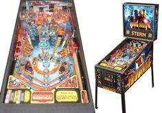 Iron Man Pinball Machine For Sale Stern #ironman #pinball