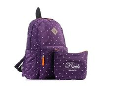 Polkadot Packable Backpack