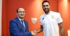 Berita Terkini: Sevilla Resmi Meminjam Salvatore Sirigu dari Paris Saint-Germain -  http://www.football5star.com/liga-spanyol/sevilla/berita-terkini-sevilla-resmi-meminjam-salvatore-sirigu-dari-paris-saint-germain/83873/