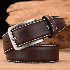 Leather Belts, Leather Men, Men's Belts, Vintage Leather, Vintage Men, Mens Belts Fashion, Fashion Men, Luxury Belts, Black And Brown