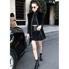 Move Over, RiRi: Bella Hadid Has Some Serious Bad Girl Style