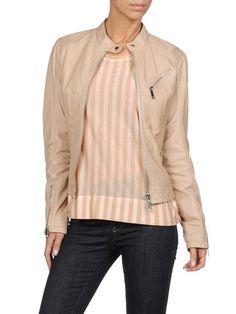 DIESEL - Leather jackets - L-ASTRID