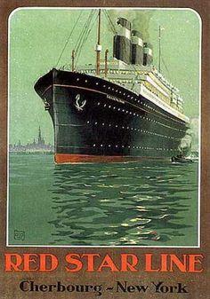 Red Star Line 1930