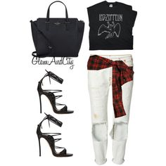 Untitled #85 by glamandcity on Polyvore featuring polyvore, fashion, style, Faith Connexion, Dsquared2 and Kate Spade
