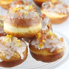 Pączki | AniaGotuje.pl Muffins Frosting, Donut Recipes, Dessert Recipes, Cupcakes, Polish Recipes, Party Drinks, Doughnut, Donuts, Fries