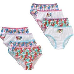 Shimmer & Shine Girls Underwear, bonus 8pk for price of 7pk - Walmart.com
