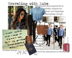 """Traveling with Luke by catherine-hemmings"" by catherine-hemmings ❤ liked on Polyvore featuring Topshop, Essie, Miss Selfridge, MICHAEL Michael Kors and Vanessa Mooney"