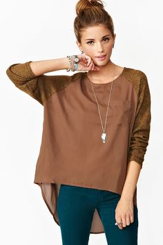Bedford Knit Top. Like the pants with it