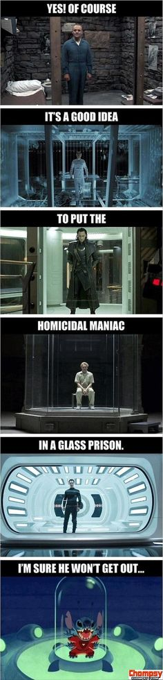 funny pictures glass prison
