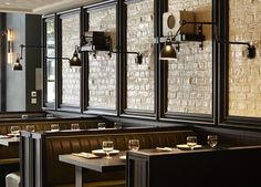Robert Angell Design International / Tredwell's in London - Marcus Wareing