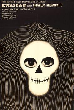 Polish poster for Kwaidan (1964)