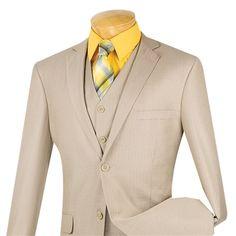 Mens gris Silver Slim Fit 3 Piece costume mariage intelligent Prom Party tonique 2 ton