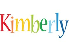Kimberly birthday logo