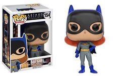 FUNKO POP! Heroes BATGIRL Batman The Animated Series Vinyl Figure #154
