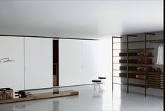 Made in Italy, project by Piero Lissoni for Porro: Complanare pull-out & sliding doors closet. #piso18casa #masaryk #porro #luxurylifestyle #luxury #qualitybrand #beautifullifestyle #madeinitaly #italiandesign #contemporarydesign #contemporaryinteriors #contemporary #modern #modernfurniture #moderndesign #moderninteriors #luxuryfurniture #interiordesign #luxeinteriors #interiorarchitecture #polanco #pierolissoni #furniture #storagecloset #closet #wardrobe #porro