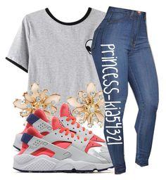 """*"" by princess-kia54321 ❤ liked on Polyvore featuring Chicnova Fashion and NIKE"