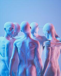 Arte Do Hip Hop, Arte Alien, Rendering Art, 3d Figures, Modelos 3d, Futuristic Art, 3d Artwork, Cyberpunk Art, Human Art