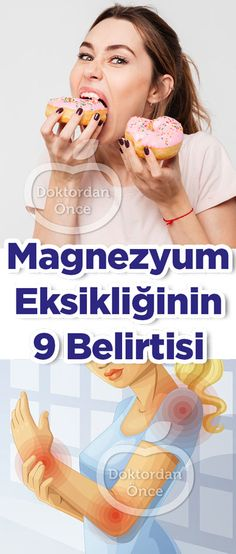 Magnezyum Eksikliğinin 9 Belirtisi Health Care Reform, Health And Beauty, Clean Eating, Food And Drink, Health Fitness, Medical, Islam, Magnesium Deficiency, Health