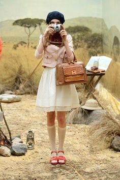 A Wes Anderson-Inspired Collection We're Crushing Over Hard #refinery29  http://www.refinery29.com/orla-kiely#slide-5