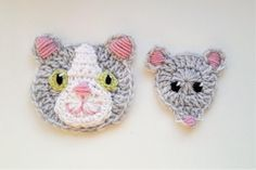 22 Ideas For Crochet Cat Clothes Etsy Marque-pages Au Crochet, Appliques Au Crochet, Chat Crochet, Crochet Dolls Free Patterns, Crochet Lace Edging, Irish Crochet, Crochet Heart Blanket, Crochet Baby Cardigan, Crochet Baby Boots