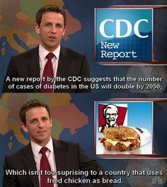 Funniest part of SNL is Weekend Update