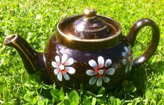 Vintage Brown Betty Teapot -LB made in England on Etsy, Sold