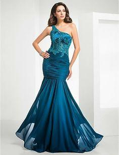 me gusta este color pero no el modelo Fantásticos vestidos de fiesta elegantes | Moda 2014
