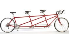 time to upgrade form the tandem, so our roommate can come along. haha