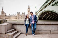 London Engagement Photo Shoot in Westminster by Truly Photography.