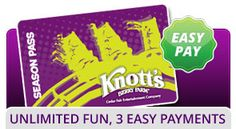 Knott's Berry Farm -- Lots of fun stuff for J, but this is near LA, about 2 hrs. from San Diego