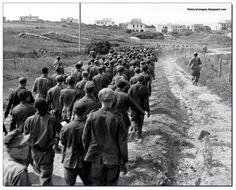 japanese soldiers who did not know ww2 ended | German soldier captured at Anzio, Italy in 1944 escorted by an ...