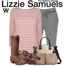 Inspired by Brighton Sharbino as Lizzie Samuels on The Walking Dead.
