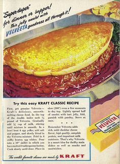 Jelly Omelet with Velveeta
