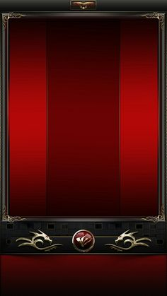 Red And Gold Wallpaper, Android Wallpaper Red, Xperia Wallpaper, Cool Wallpaper, Iphone Wallpaper, Red And Black Background, Background Images, Phone Backgrounds, Wallpaper Backgrounds