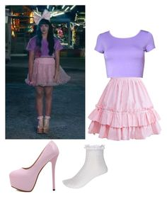 """""""get the look melanie martinez"""" by chihuahuagirl on Polyvore featuring River Island"""