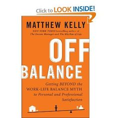 Mar 2012: Also pinned this in my Books Worth Reading board. If you are struggling with work-life balance, which Kelly says is a myth, this is the book for you. No silver-bullet answers but some very provocative advice and some practical advice too.