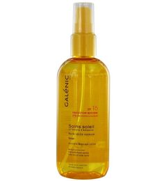 Galenic Soin Soleil Huile Seche Soyeuse Spf15 Μη Λιπαρό Μεταξένιο Αντηλιακό Λάδι Σώματος 150ml. Μάθετε περισσότερα ΕΔΩ: https://www.pharm24.gr/index.php?main_page=product_info&products_id=12232