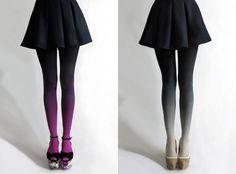 Modelos de meia-calça ombré...gostei!