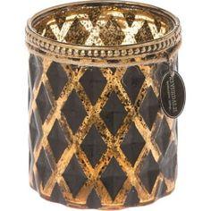 Teelichthalter Glam bronze Bronze, Artichokes, Copper, Hang In There, Glass, Decorations