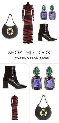 """""""Dali"""" by babemagnet ❤ liked on Polyvore featuring Givenchy, Amrapali, Emilio Pucci and Loewe"""