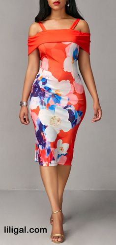 Your search for the perfect Cold Shoulder Dress ends here! Pretty Outfits, Pretty Dresses, Sexy Dresses, Casual Dresses, Sheath Dresses, African Fashion Dresses, African Attire, African Dress, Lace Gown Styles