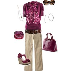 Untitled 20, created by sapple324 on Polyvore. Love the belt