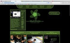 Maths Pickle: activities and games and videos