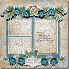Close To My Heart One Page Scrapbook Layouts