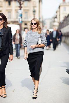 知的スタイルに欠かせないタイトスカートをオフィスで着こなそう♪知的でデキる女と思わせるのが建前だけど、ちょっと色気も感じてほしい!お堅い会社でもOKなベーシックなラインナップを厳選しました!参考にしてください!
