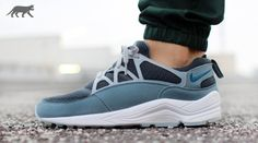 Nike Air Huarache Light Grey Blue Charcoal | Sole Collector