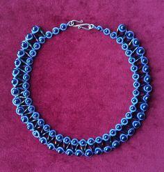Tatting Necklace, Tatting Jewelry, Beaded Necklace, Jewlery, Beads, Crochet, Diy, Handmade, Accessories